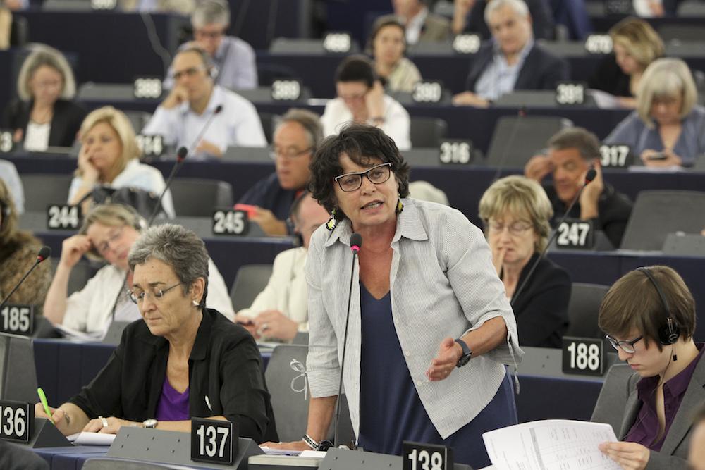 Session plénière au Parlement de Strasbourg / UE 2015 - Source : EP